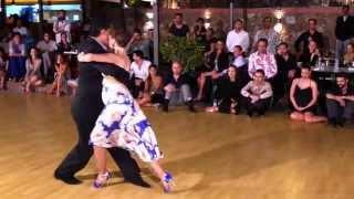 """Ruben & Sabrina Veliz - """"Pobre flor"""" Orquesta tango - July 19 2015"""