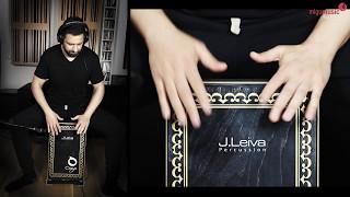 Balkan Style Cajon Playing - Kostas Karagiozdis feat. Valeri Oktay