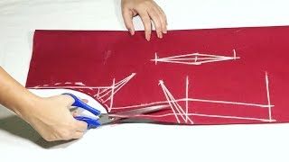 Kameez cutting with Plates(darts) with usefull tips || Sewing tutorial width=