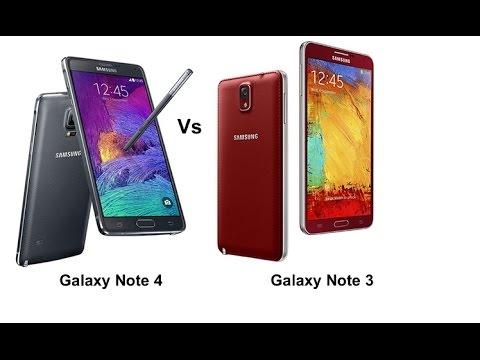 مقارنه الوحوش Galaxy Note 4 Vs Galaxy Note 3