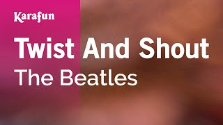 Karaoke Twist And Shout - The Beatles *