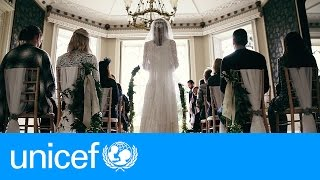 A storybook wedding - except for one thing | UNICEF width=