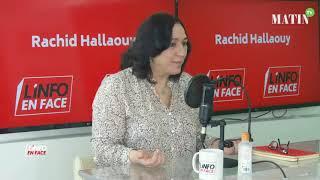 L'Info en Face avec Pr Majida Zahraoui