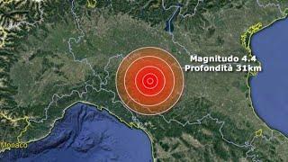 Forte scossa di terremoto al Nord, epicentro vicino Parma, il sisma avvertito anche in Liguria e Tos