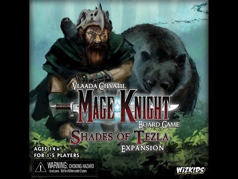 Reseña Mage Knight Board Game: Shades of Tezla Expansion