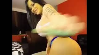 Hot Asian twerk Big Booty Ass Shaking