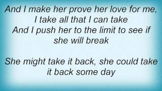 18388 Pink Floyd - Take It Back Lyrics