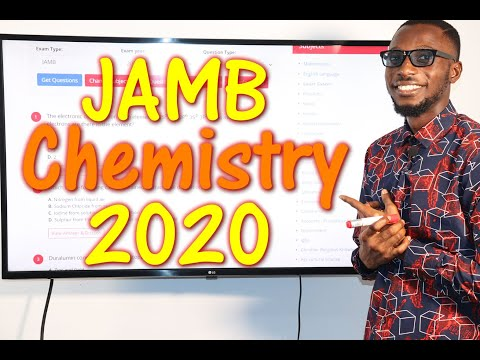 JAMB CBT Chemistry 2020 Past Questions 1 - 20