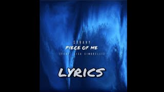 Piece Of Me - Lisa Cimorelli ft. Stravy (lyrics)