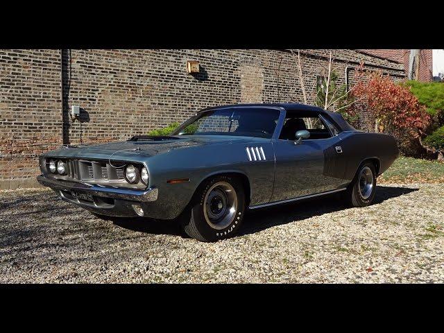 1971 Plymouth 'Cuda 426 Hemi Cuda Barracuda Convertible in Gray on My Car Story with Lou Costabile