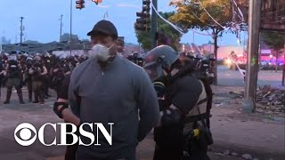 CNN reporter talks about his arrest during Minneapolis protest