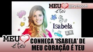 [Chamada #5] do personagem 'Isabela' em Meu Coração é Teu (SBT, 2016).
