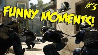 PRA QUE AGREDIR | CS:GO FUNNY MOMENTS | #3