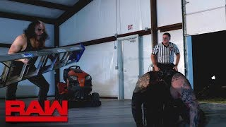 Hardy brutalizes Wyatt inside The Dome of Deletion - The Ultimate Deletion: Raw, March 19, 2018
