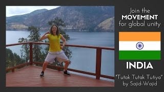 "Dance Fitness ""Tutak Tutak Tutiya"" by Sajid-Wajid | INDIA"