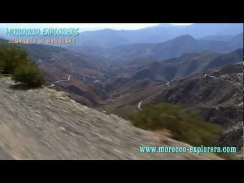 Tizi n Test Pass – hair raising drive through the High Atlas Mountains Morocco