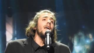 Salvador Sobral - Amar Pelos Dois (Portugal) LIVE Final (inside Arena)