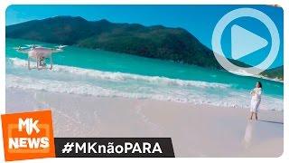 Gisele Nascimento - Bastidores da Gravação do Clipe Imensurável (#MKnãoPARA)