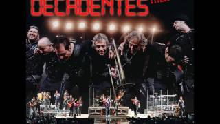 Los Autenticos Decadentes - Como me voy a olvidar (VIVO - AUDIO)