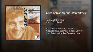 Appalachian Spring: Very Slowly