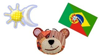 Learn portuguese - The opposites for kids