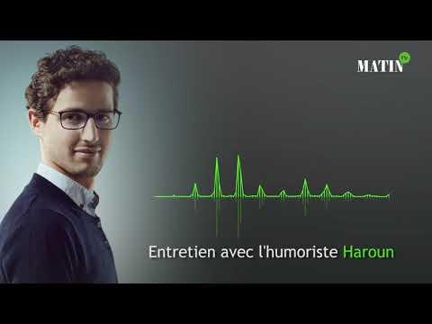 """Video : Haroun : """"Très jeune j'avais envie de faire de l'humour sans jamais vraiment oser"""""""