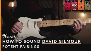 How To Sound Like David Gilmour of Pink Floyd Using Pedals | Potent Pairings