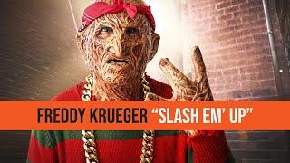 "FREDDY KRUEGER - OFFICIAL ""SLASH 'EM UP"" (RIP 2PAC FREESTYLE)"