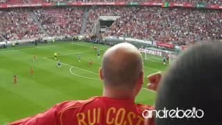 Portugal vs França 1-0 Euro 2016 Smos Campeões! golo Quaresma  Portugal Estónia 2-0 8 june