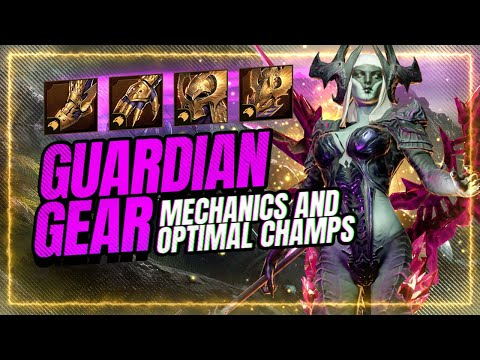 GUARDIAN SET Full Guide! Mechanics & Usage! | RAID Shadow Legends