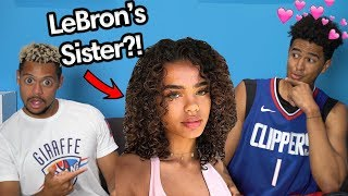 2HYPE GUESS THAT NBA PLAYERS SISTER !!