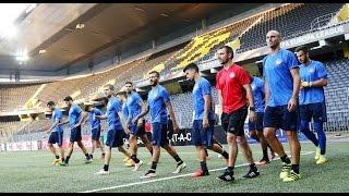 Η προπόνηση πριν την Γιανγκ Μπόις / Training ahead of match against Young Boys