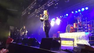 Halestorm Live Lzzy Hale sings Janis Joplin's Mercedes Benz at The Ritz in Raleigh, NC 04/07/2016