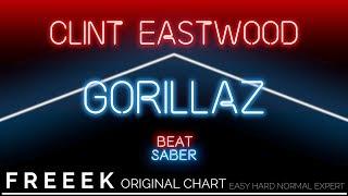 【BeatSaber Custom】Clint Eastwood - Gorillaz | Expert FC