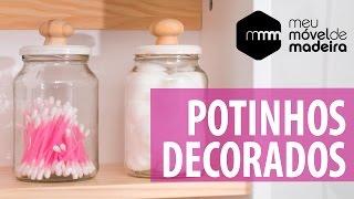 DIY: Decore seus potes de casa!