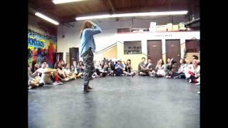 Advanced Kids Hip Hop Class @  Urbanology  FiNaTTicZ - Tyga Don't Drop That Thun Thun Thun