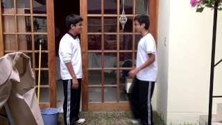 Niños se creen Dragon Ball