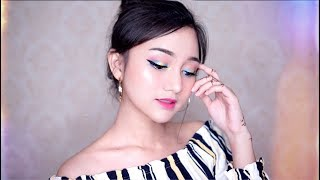 PIXY ONE BRAND TUTORIAL | Colorful Concert Makeup [BAHASA] width=