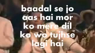 Aa Gale Lag Ja Mere Sapne-Karaoke & Lyrics-April Fool(1964)