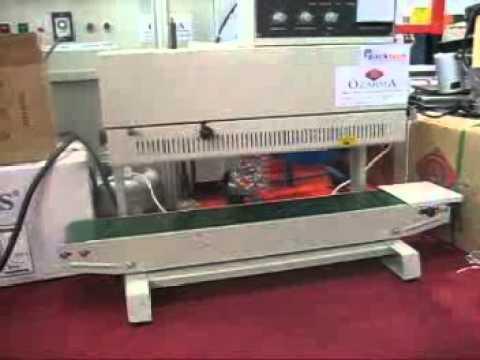 SP 600 /A Sürekli Bant Naylon Kaynak Makinesi