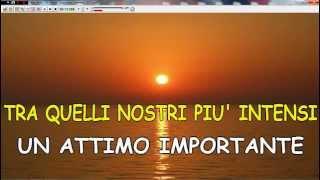Sanremo 2015 Un attimo importante - (A.Britti)  karaoke+testo Ascoli Satriano(Fg)