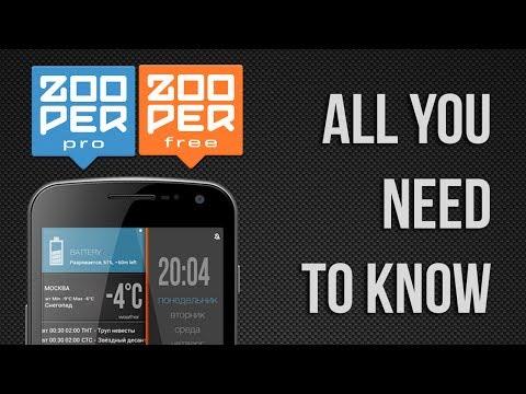 Zooper Widget Pro | Download APK for Android - Aptoide