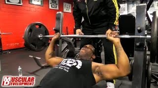 Busta Rhymes and IFBB Pro Victor Martinez May 16 2013 PT2 / Jeff The Producer