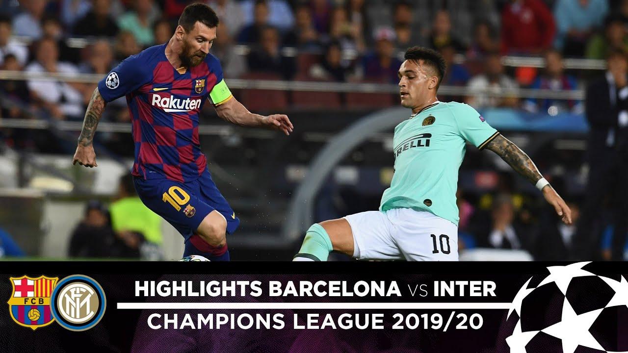 barcelona 2-1 inter highlights