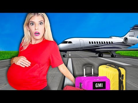 Download Video My FIRST Trip PREGNANT! (WORST Pregnancy 24 Hour Challenge In Hawaii)   Rebecca Zamolo