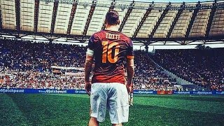 GOOD BYE FRANCESCO TOTTI|||  ADIOS As Roma||| inside of estadio Olympic last game resume
