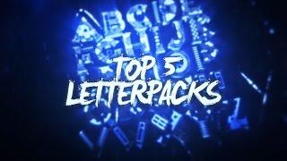 TOP 5 FREE LETTERPACKS (Cinema4D & Blender ) #2 - Prestige Intros