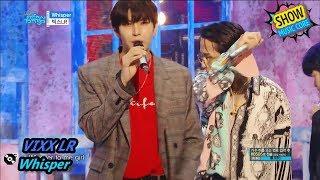 [Comeback Stage] VIXX LR - Whisper, 빅스LR - 위스퍼 Show Music core 20170902