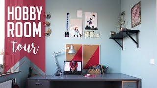 Hobby Room Tour | 10 hobbies on 6 m2