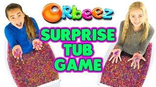 Orbeez Bath Tub Challenge Games | Official Orbeez
